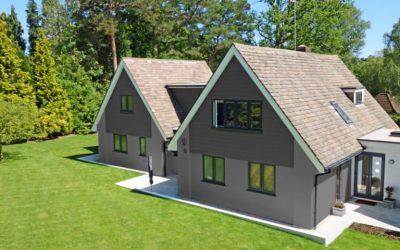 Los colores adecuados para el exterior de casas en zonas urbanas y rurales